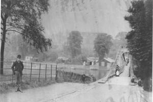 River Dee Suspension Bridge Chester